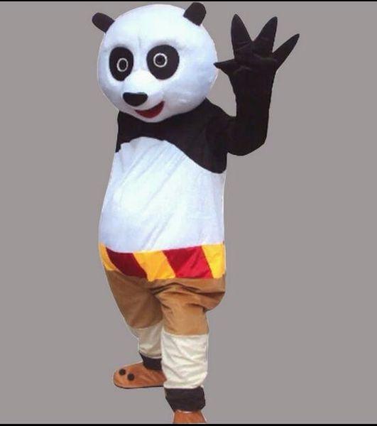Envío gratis nuevo traje de la mascota Kung Fu Panda personaje de dibujos animados traje adulto tamaño