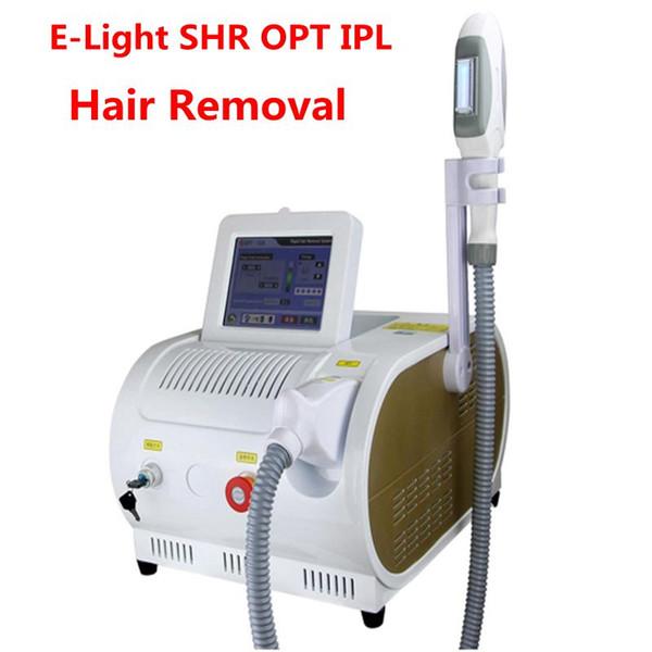Новые !!! E-Light SHR OPT IPL Лазерная эпиляция машины для ухода за кожей RF волос Эпилятор омоложения кожи салон красоты Использование оборудования