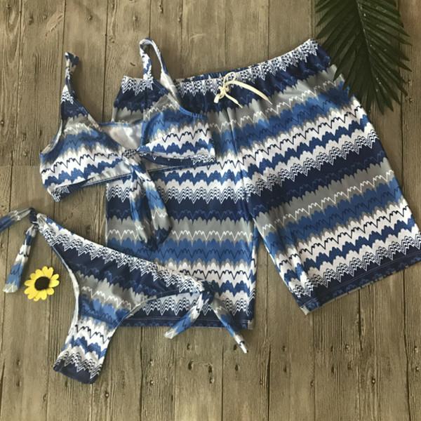 22c83546a3e3 Compre Traje De Baño Pareja Pantalones Cortos Mujeres Para Hombre Bañadores  Bermudas Surf Pantalones Cortos De Natación Troncos De Natación Playa ...
