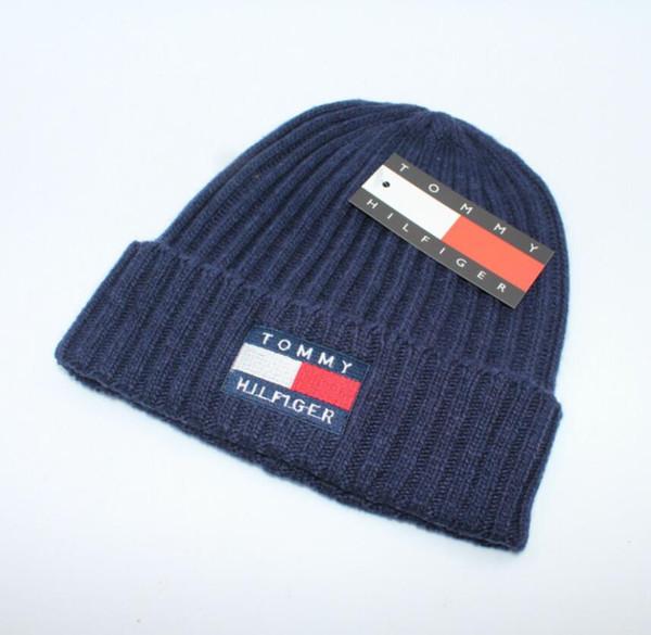 d7069970cd5 2018 Unisex Autumn Winter Beanie hat men brand Tom knitted hats casual  classic skull caps ski gorros hip hop women Bonnet beanies wholesale