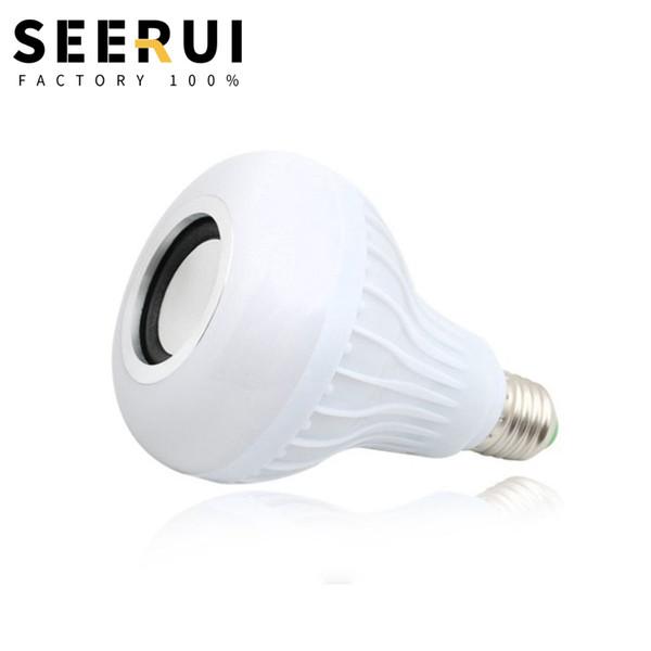 LED bluetooth telecomando audio lampadina colore lampadina casa musica a risparmio energetico lampadina camera da letto lampada soggiorno lampada