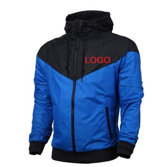 Brand NK Box LOGO Letter Sweatshirt Hoodie Jacket Long Sleeve Sports Zipper Windbreaker Designer New Menswear