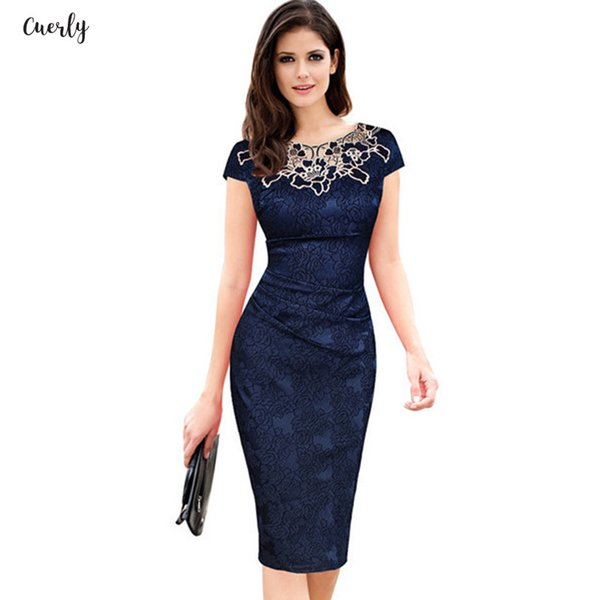Summer Midi Dresses Ruched Women Floral Embroidery O Neck Lace Dress Elegant Wedding Party Casual Office Vintage Designer Clothes