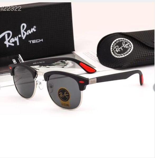 2020 мужчины высококачественные кожаные солнцезащитные очки дизайнер ретро Буффало солнцезащитные очки классический женский градиент солнцезащитное стекло мужчины старинные солнцезащитные очки
