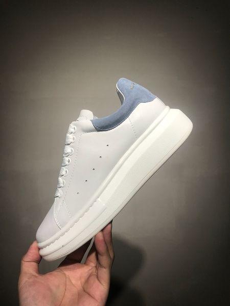 Cores Mais Novo Da Marca Das Mulheres Dos Homens de Couro de Moda Oversized Alexanders Plataforma Aumento de Rainhas Sapatos Casuais Mens de Alta Qualidade Sneakers