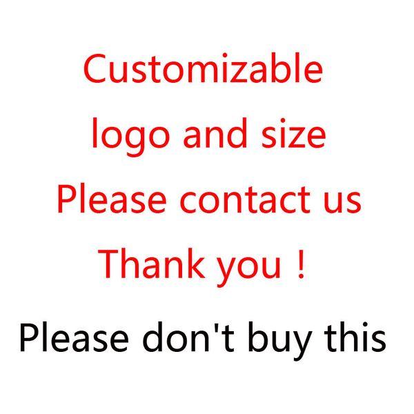 Kişiselleştirilebilir logosu ve boyut