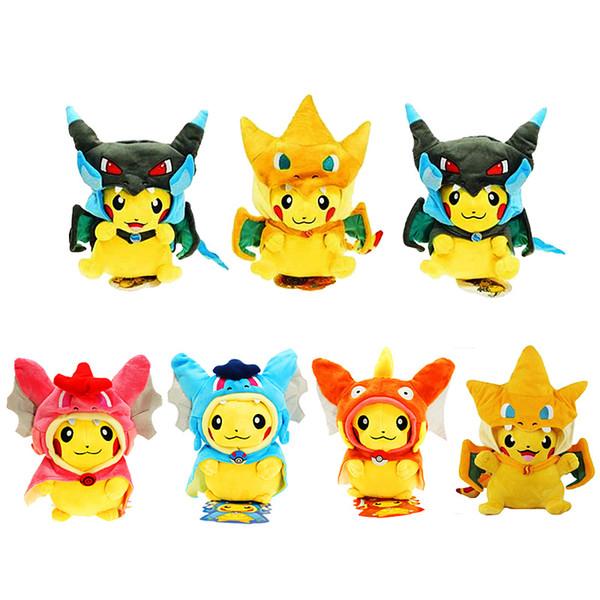 Dibujos Cosplay Peluche Pikachu Slowpoke Magikarp Muñecos Animales Juguetes Charizard De Compre Animados Bebé 2WD9EHIY