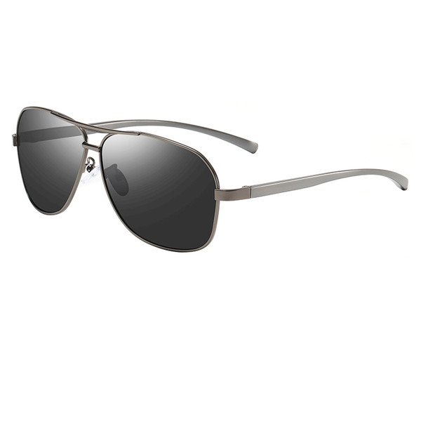 New night vision glasses polarized sunglasses men and women rectangular metal frame sunglasses driving male female eye driver glasses