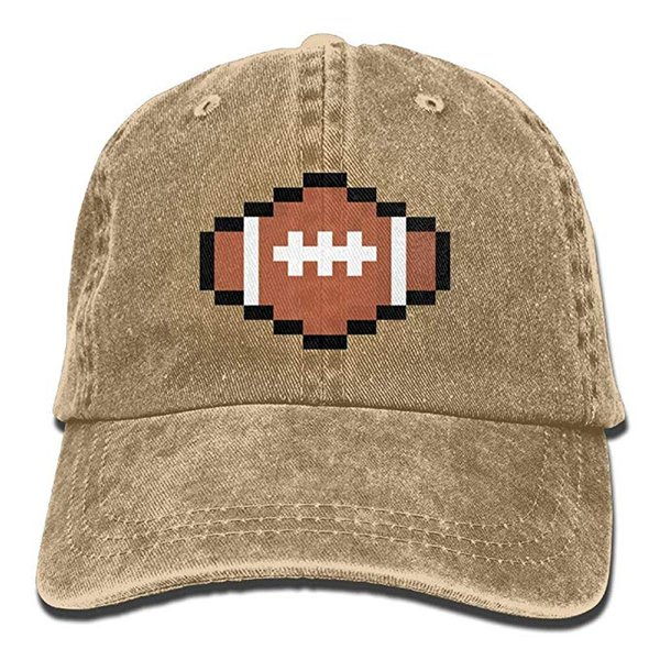 0125b283e 2019 2019 New Designer Baseball Caps Rugby Ball Pixel Art Mens Cotton  Adjustable Washed Twill Baseball Cap Hat From Hanxiang123, $4.92 |  DHgate.Com