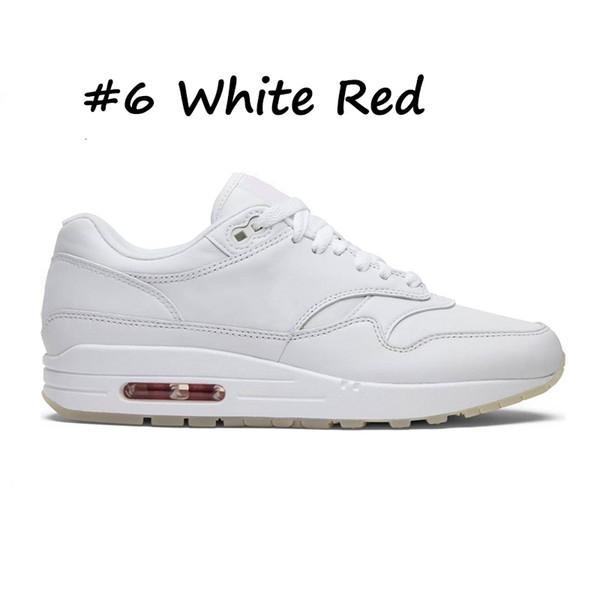 6 White Red