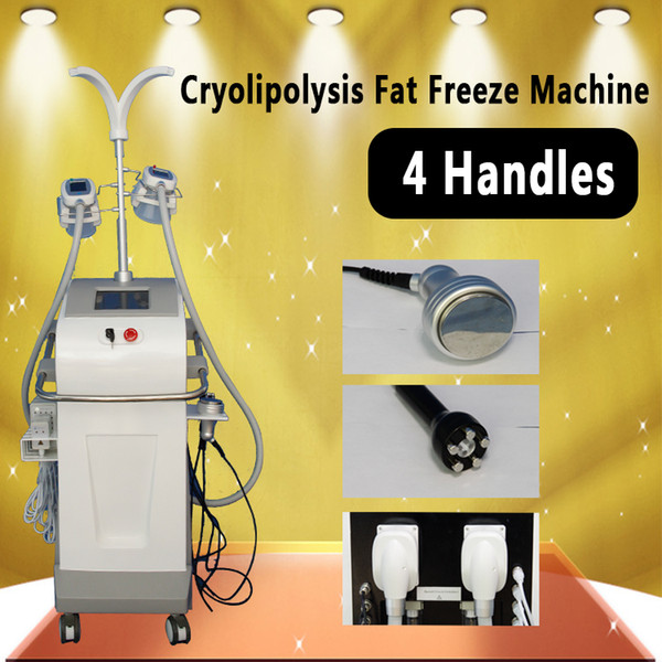 Cryolipolysis-Fett-Einfriermaschine 4 behandelt Zeltiq Lipolysis-kühlen Körper, der Lipolaser-Kavitations-Badekurort-Salon-Gebrauch Cryo abnimmt, der Ausrüstung abnimmt