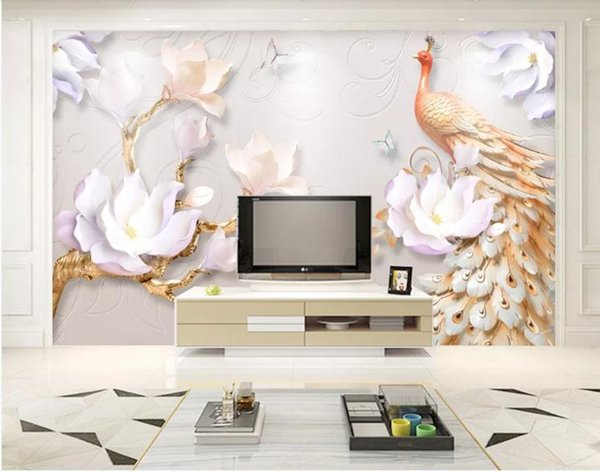 Custom 3D Photo Wallpaper Star Universe Galaxy Room Embossed three-dimensional moder Wall Painting Living Room Bedroom Wallpaper Home Decor