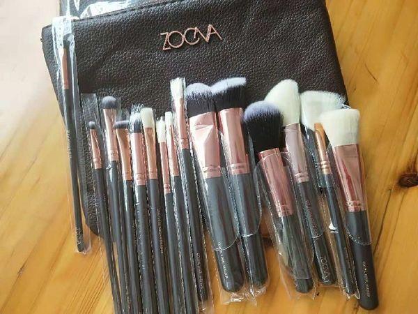 Hot Sale Z.O.EVA Brush 15pcs/Set Professional Makeup Brush Set Eyeshadow Eyeliner Blending Pencil Cosmetics Tools With Bag