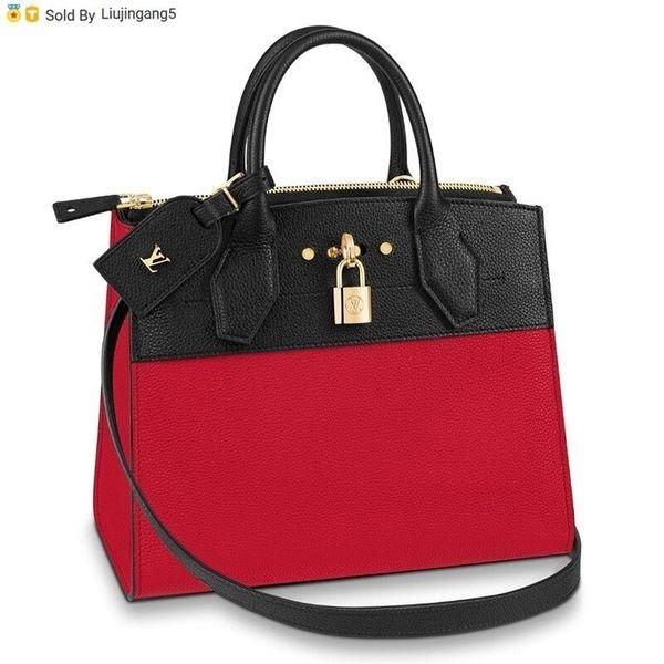 Liujingang5 54868 Mano City Steamer Pelle Pm Con Tracolla M4868 Totes Handbags Shoulder Bags Backpacks Wallets Purse