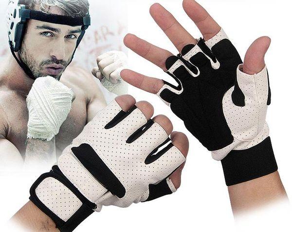 Gants de poignet demi-doigts de sport pour hommes et femmes