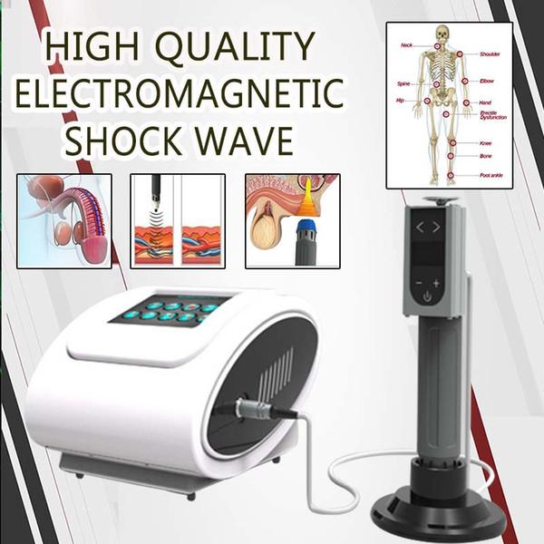 Mais novo Mini uso doméstico equipamento de terapia por ondas de choque elétrico para Masculino Sexual ED Disfunção Erétil Terapêutica fisioterapia