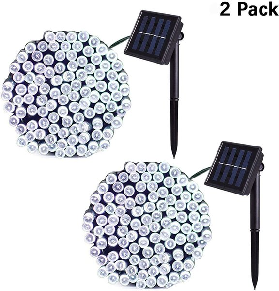 LED solar string light 22M 200LEDs solar power Fairy lights 8 modes with 7 color waterproof outdoor led christmas lights