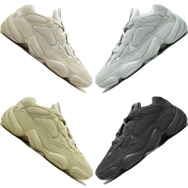Kanye West 500 Desert Rat Blush 500s Salt Super Moon Yellow Utility Black mens running shoe for men women sport sneaker designer trainers #3