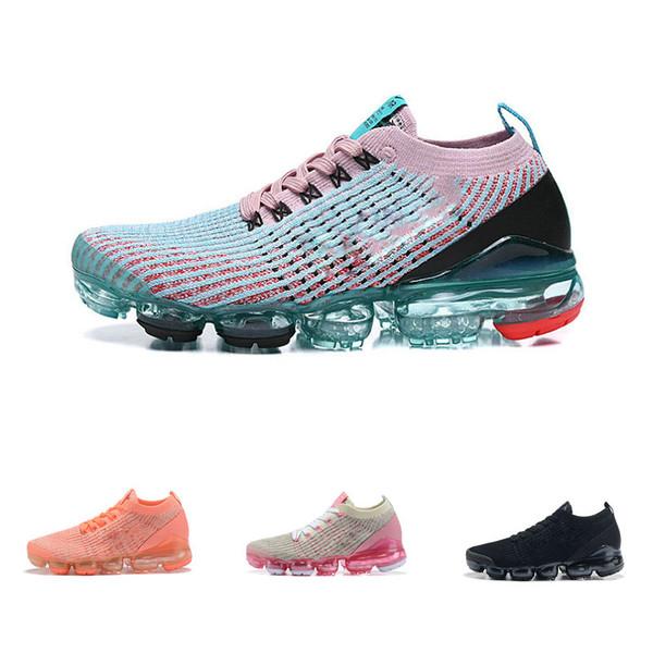 Voar Mulheres Tênis de malha Malha Respirável Designer de Malha Sapatos Menina Feminino Rosa Roxo Esporte Tênis Ginásio Jogging Sneaker Presente de Aniversário