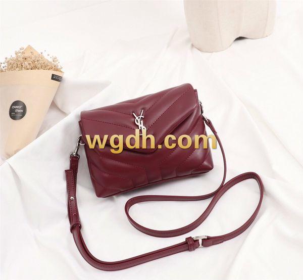 Bolso de hombro para mujer 2019 Marca Europa y América Crossbody Suede Plain Bag Bolso de hombro para mujer 78920