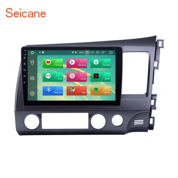 Android 8.1 10.1 Inch Car Stereo for 2006-2011 Honda CIVIC with 3G WiFi Autoradio Bluetooth GPS System support OBD2 DVR Rear Camera car dvd