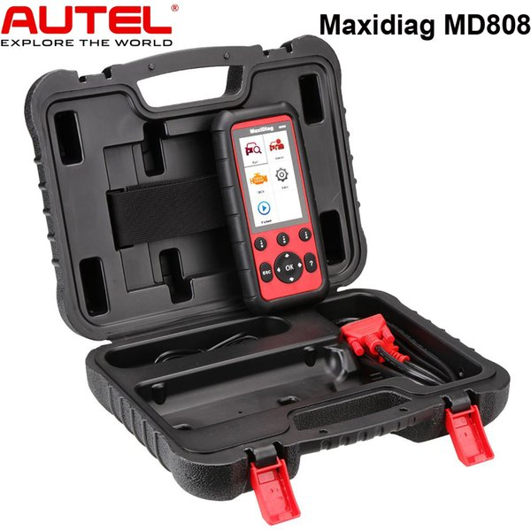 Autel MaxiDiag MD808 Diagnostic Scanner Tool for Engine, Transmission, SRS and ABS Systems with EPB, Oil Reset, DPF, SAS and BMS In Stock