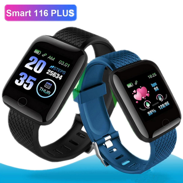Color creen116 plu mart wri tband watch bracelet fitne tracker heart rate tep counter activity monitor band wri tband ip67 waterproof