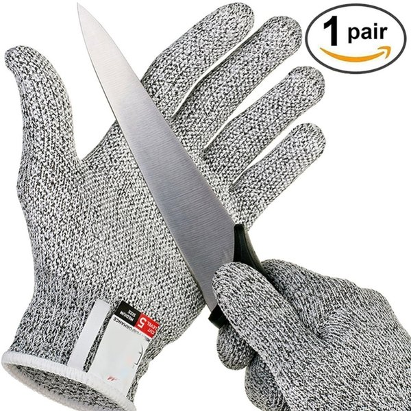 Outdoor Hunting Cut-proof Full Finger Gloves Food Grade 5 Breathable Anti-cutting Manual Cookware Butcher Protection Hand