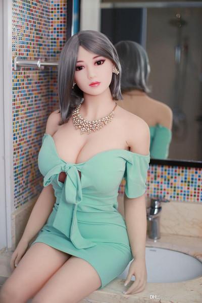 158cm réaliste poupée seins cul sexe poupée pour hommes de haute qualité corps entier l avec gros seins oral / vagin sexy jouets pour homme