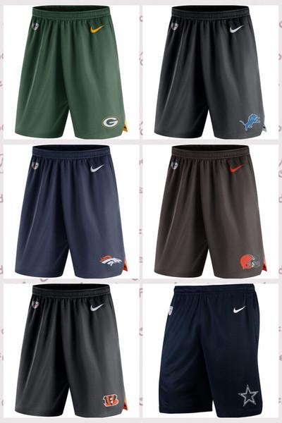 best selling Green Bay Packers Cleeland Browns Detoit Lions Denver Brncos Dalas Cowboys Knit Performance Shorts