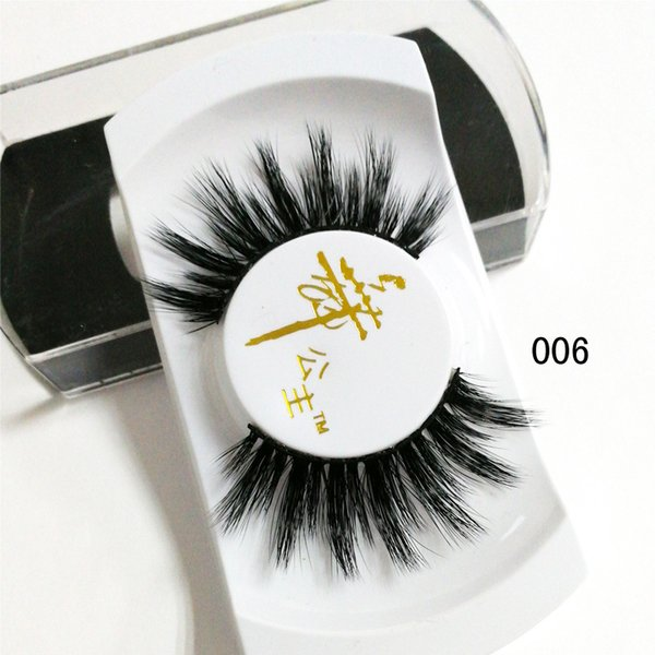 private label Lashes 3D Faux silk Strip silk Eyelashes for sale China Wholesale 3D Natural Hair Handmade Synthetic silk Eyelashes