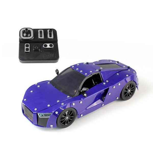 518 PCS Technic Series Motor Power Function RC Building Car Building Block Car Model Brick Toys For Children