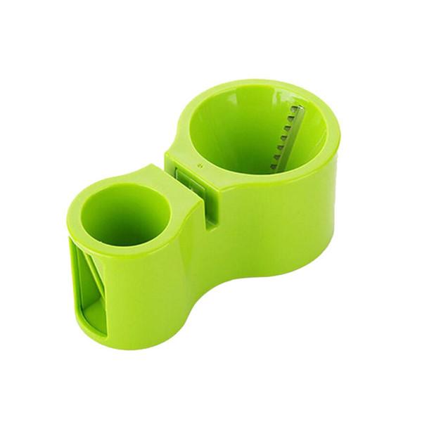 2 Em 1 Multifuncional Vegetal Espiral Cortador Duplo Ralador De Cozinha Slicer Ralado