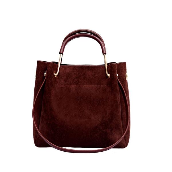 New design Large-capacity female handbag, Korean version matte retro shoulder Messenger bag wild small square women's bag