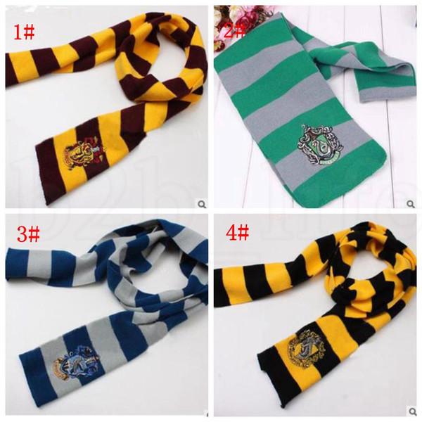 Compre es Harry Potter Bufanda Gryffindor Slytherin Hufflepuff ...