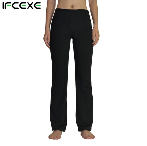 official images official sale new 2019 Women Power Flex Boot Cut Yoga Pants Tummy Control Workout Running 4  Way Stretch Boot Leg Yoga Pant Flare Trousers Bootleg Pants #147332 From ...