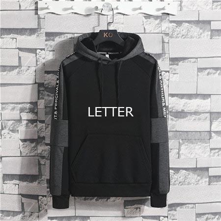 Дизайнерская мужская одежда толстовки свитера свитер мужской носить толстовки роскошные одежды с длинными рукавами спортивной молодежи Streetwear B102323D