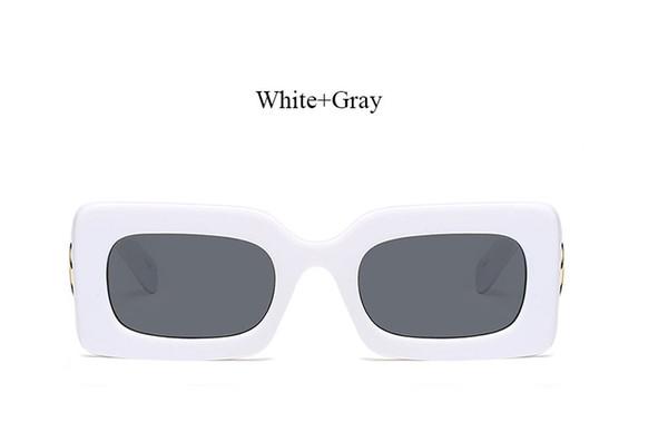 F323 White Gray