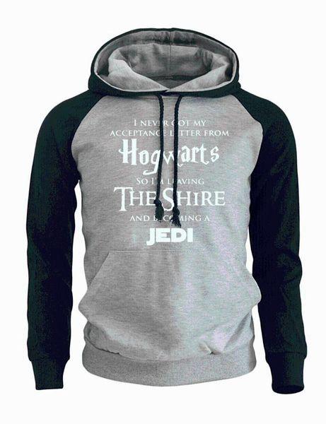 letter print letters the shire jedi mens hoody 2018 new sweatshirts autumn winter hoodies raglan sportswear casaul hoodie hoodie