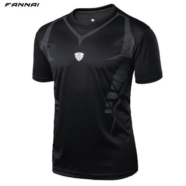Erkekler Açık spor Koşu Spor Sabah çalıştırmak Tenis Nefes badminton erkek t-shirt Yürüyüş koşu spor gömlek tees tops