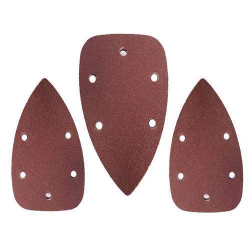 Self-adhesive Sandpaper Triangle Delta Sander Sand Paper Hook Loop Sandpaper Disc Abrasive Tools For Polishing Grit 40-2000