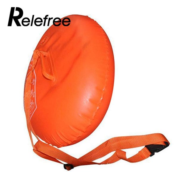 best selling Sports Safety Swim Device PVC Inflatable Swimming Ball Airbag Inflated Life Buoy Flotation Pool Open Water Sea