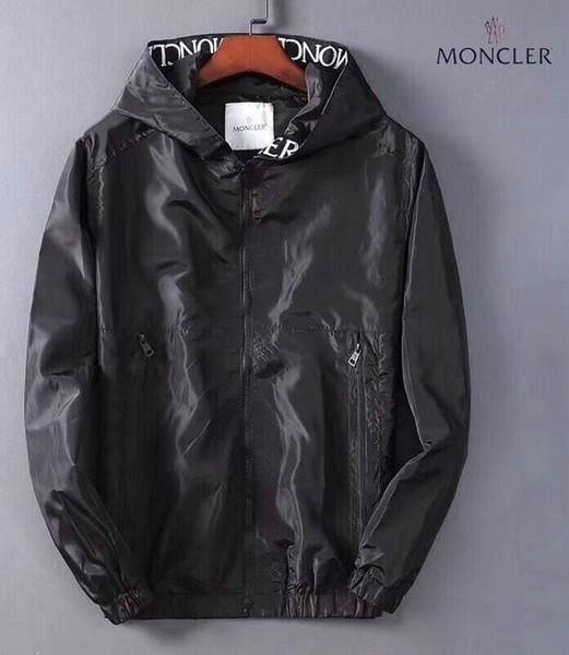 2019 yeni ceket erkek patlama uzun kollu kapşonlu high-end ceket moda kişilik Ince erkek ceket 5868399902 708