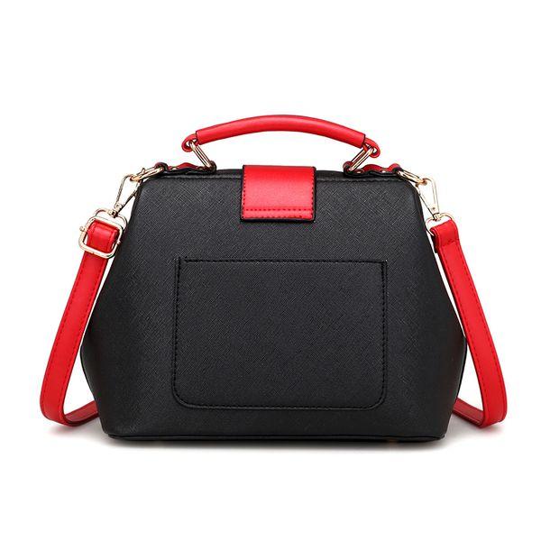 Black Fashion Lipstick Doctor Crossbody Bags For Women PU Leather Messenger Tote Brand Bolsos Bags Girls Simple Tote Bolsa