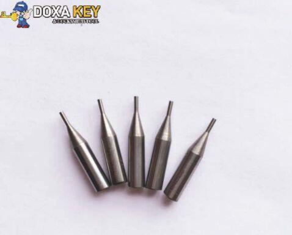 2pcs/lot W106 carbide dimple Key Cutter 90degree 0.6mm tip spade drill bit replace SILCA TRIAX QUATTRO key cutting machines