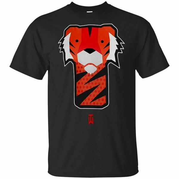 Tiger Woods T-Shirt Tiger Woods Golf T-Shirt Kurzarm S-5Xl Herren Kleidung T-Shirt