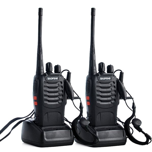 2pcs Baofeng bf-888s Walkie Talkie Radio Station UHF 400-470MHz 16CH 888s CB Radio talki walki bf-888s Portable Transceiver