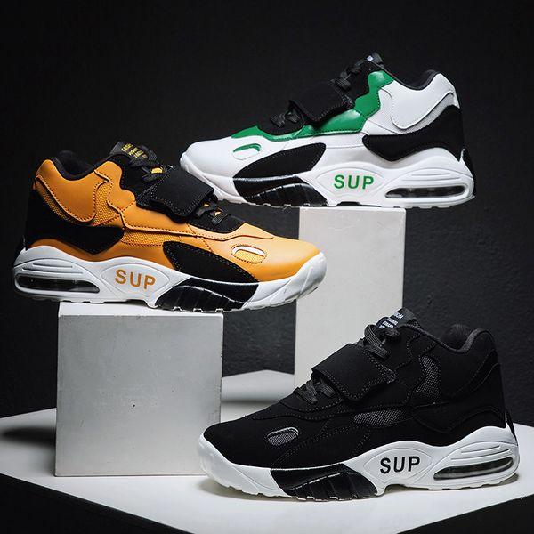 Sıcak Ins Yeni Geliş 2019 Erkekler Sneakers Kadınlar Lüks Tasarımcı Ayakkabı Chunky Moda Büyük Çocuklar Deri Hava Yastık Basketbol Sneakers