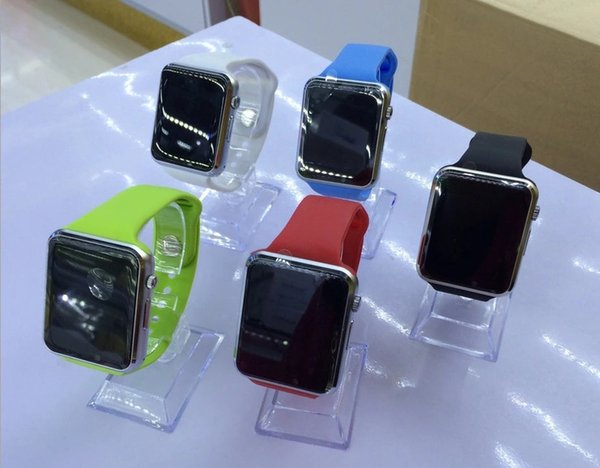 Wholesale A1 smartwatch Smart Watches Bluetooth Wearable Men Women Smart Watch Mobile with Camera for Android Smartphone Smartwatch Camera