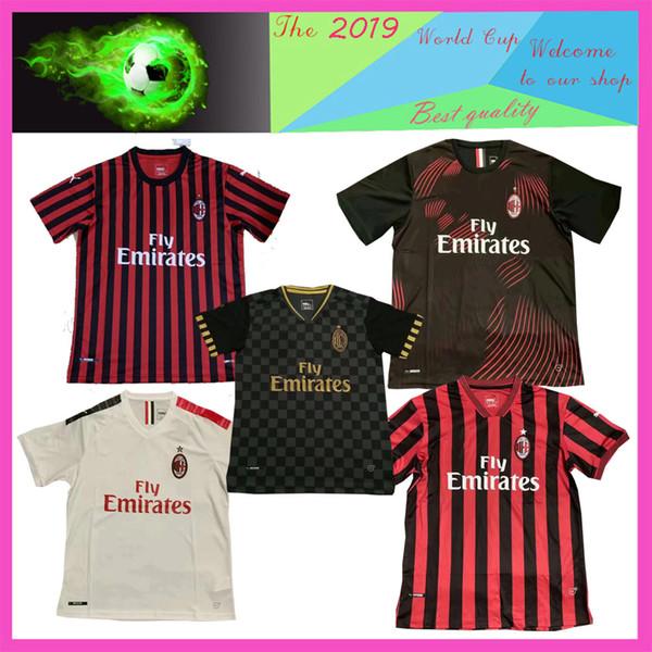 21ba08a327 NES 19 20 Higuain AC Milan Piatek Camisas De Futebol Camisa de Futebol  Paqueta KESSIE Donnarumma